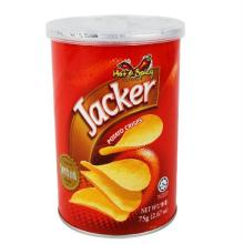 Batata JACKER hot spicy 75g