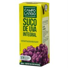 Suco de Uva Integral Campo Largo 200ml